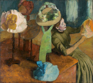 Edgar Degas (French, 1834–1917) The Millinery Shop, ca. 1882–8